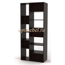 Стеллаж книжный КСВ-2-13Д