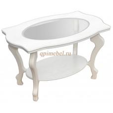 Журнальный стол Берже 1С белый ясень