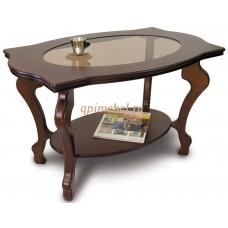 Журнальный стол Берже 1С темно-коричневый