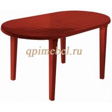 Пластиковый стол СПИТ-3 овальный