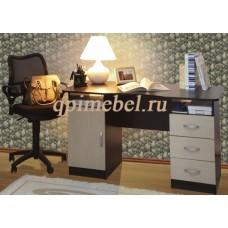 Стол письменный Олимп с двумя тумбами
